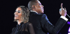 Beyonce & Jay Z perform at the Grammy Awards