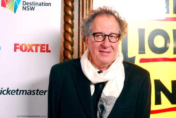 Actor Geoffrey Rush at the 2014 Helpmann Awards, Capitol Theatre - Photographed by Whitney Duan