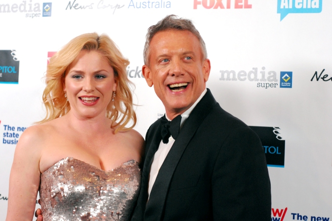 Actor Simon Burke at the 2014 Helpmann Awards, Capitol Theatre - Photographed by Whitney Duan