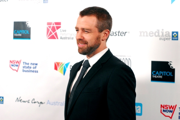Actor Simon Gleeson at the 2015 Helpmann Awards, Capitol Theatre - Photographed by Whitney Duan