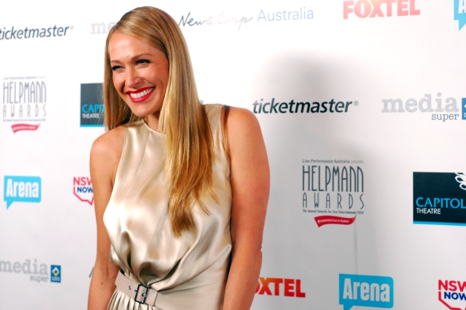 Actress at 2014 Helpmann Awards, Capitol Theatre, Sydney - Photographed by Whitney Duan
