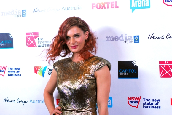 Actress Danielle McCormack at the 2014 Helpmann Awards, Capitol Theatre - Photographed by Whitney Duan