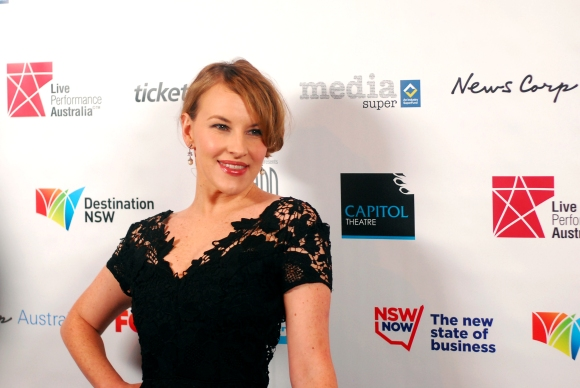 Actress Kate Mulvany at the 2014 Helpmann Awards, Capitol Theatre - Photographed by Whitney Duan