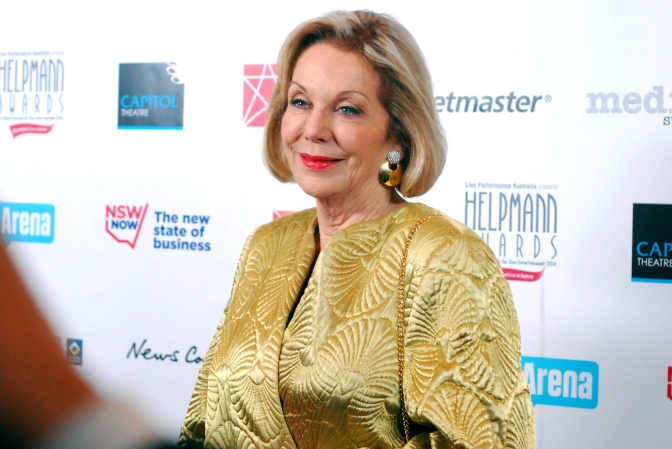 Fashion icon Ita Buttrose at the 2014 Helpmann Awards, Capitol Theatre, Sydney - Photographed by Whitney Duan