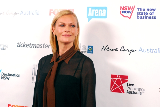 Television personality Sarah Murdoch at the 2014 Helpmann Awards, Capitol Theatre - Photographed by Whitney Duan