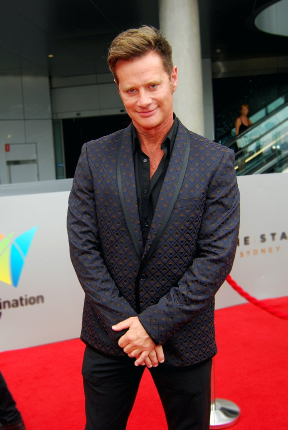 Gossip guru Richard Reid at the 2015 ASTRA Awards, The Star, Sydney - Photographed by Whitney Duan
