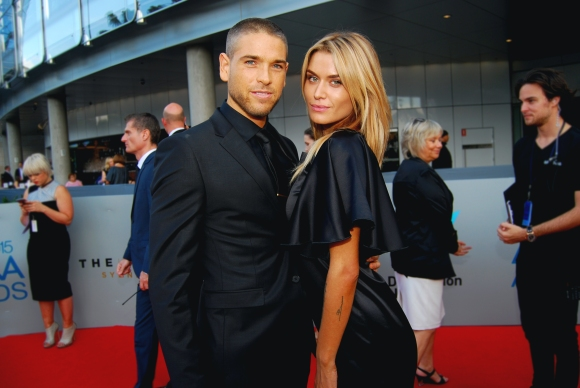 Models Cheyenne Tozzi and Didier Cohen at the 2015 ASTRA Awards, The Star, Sydney - Photographed by Whitney Duan