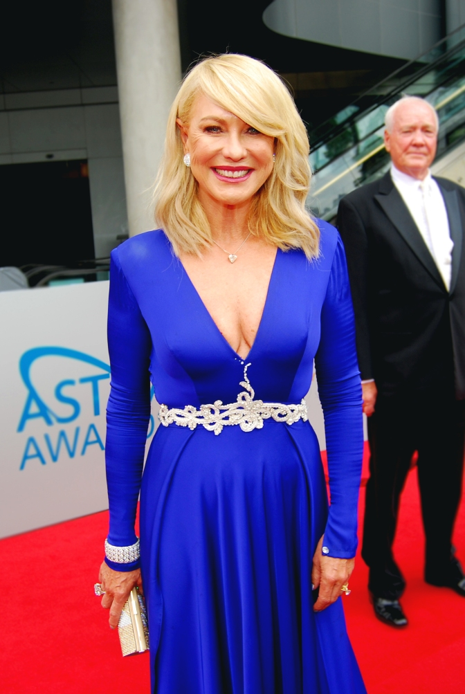 Presenter Kerri-Anne Kennerley at the 2015 ASTRA Awards, The Star, Sydney - Photographed by Whitney Duan