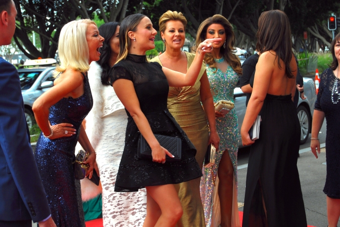 The Real Housewives of Melbourne at the 2015 ASTRA Awards, The Star, Sydney - Photographed by Whitney Duan