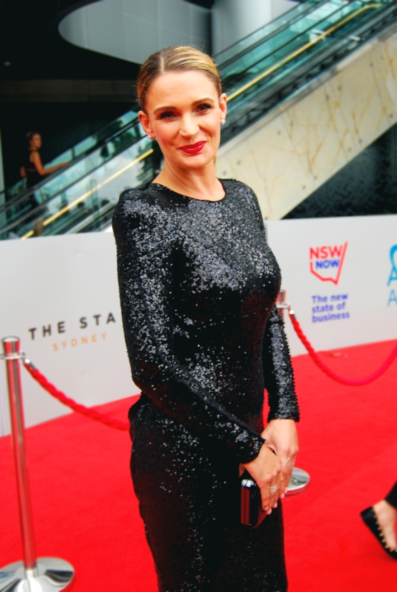 Wentworth star Danielle Cormack at the 2015 ASTRA Awards, The Star, Sydney - Photographed by Whitney Duan