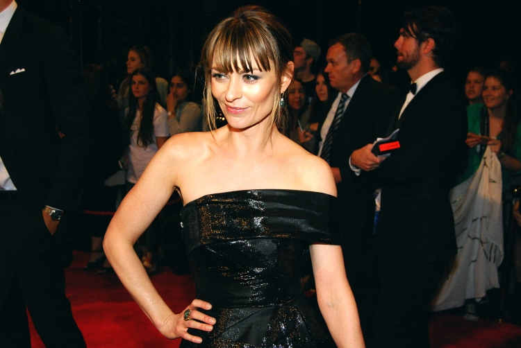 Actress Kat Stewart with Eden Caceda at the 2015 Logie Awards, Melbourne, Australia - Photographed by Whitney Duan