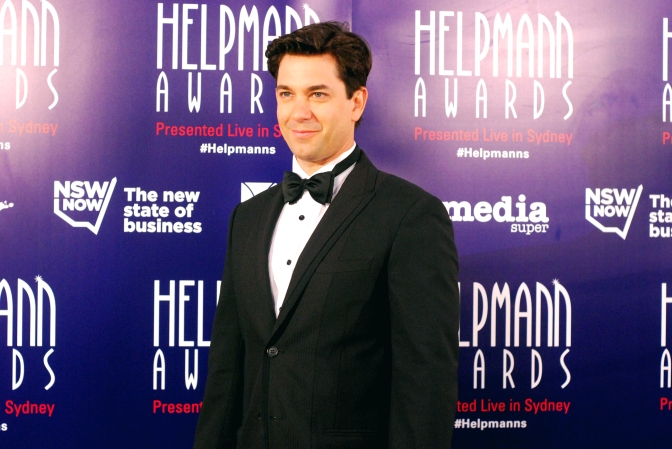 Adam Garcia at the 2015 Helpmann Awards, Capitol Theatre, Sydney - Photographed by Whitney Duan