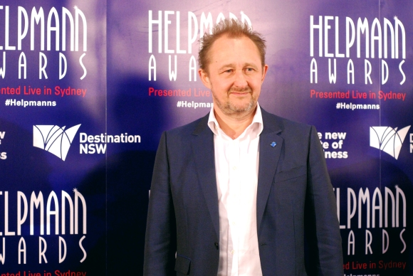 Andrew Upton at the 2015 Helpmann Awards, Capitol Theatre, Sydney - Photographed by Whitney Duan