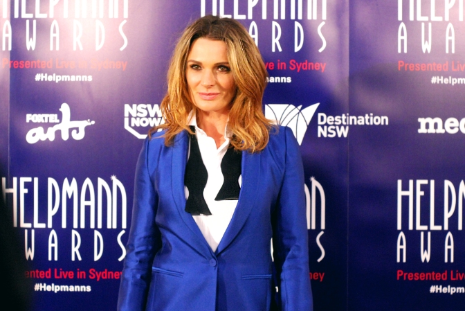 Danielle Cormack at the 2015 Helpmann Awards, Capitol Theatre, Sydney - Photographed by Whitney Duan