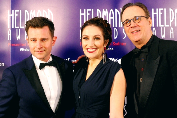 David Campbell at the 2015 Helpmann Awards, Capitol Theatre, Sydney - Photographed by Whitney Duan