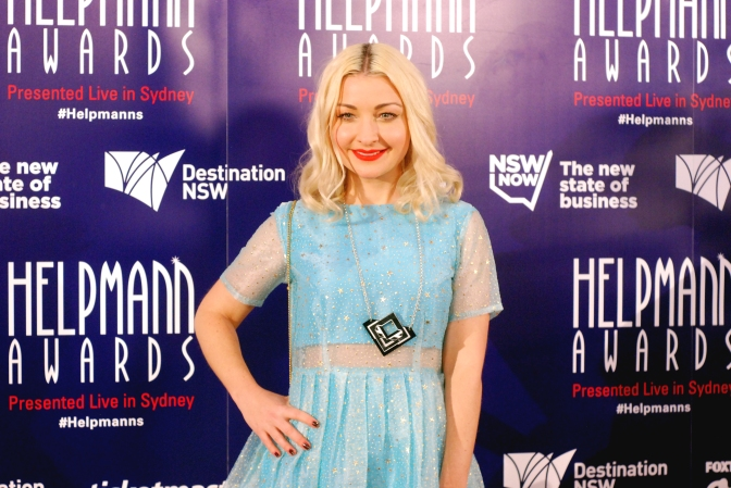 Kate Miller-Heidke at the 2015 Helpmann Awards, Capitol Theatre, Sydney - Photographed by Whitney Duan