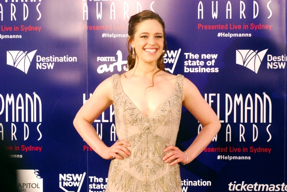 Kerrie Anne Greenland at the 2015 Helpmann Awards, Capitol Theatre, Sydney - Photographed by Whitney Duan
