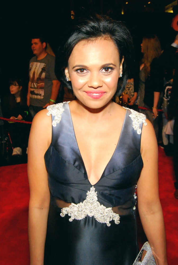 Love Child actress Miranda Tapsell with Eden Caceda at the 2015 Logie Awards, Melbourne, Australia - Photographed by Whitney Duan