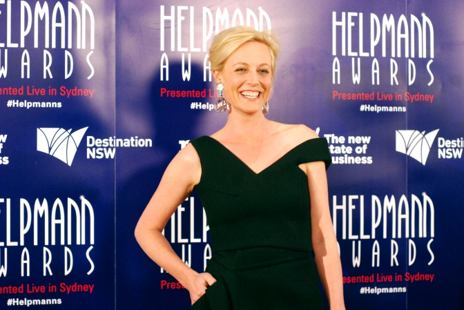 Marta Dusseldorp at the 2015 Helpmann Awards, Capitol Theatre, Sydney - Photographed by Whitney Duan