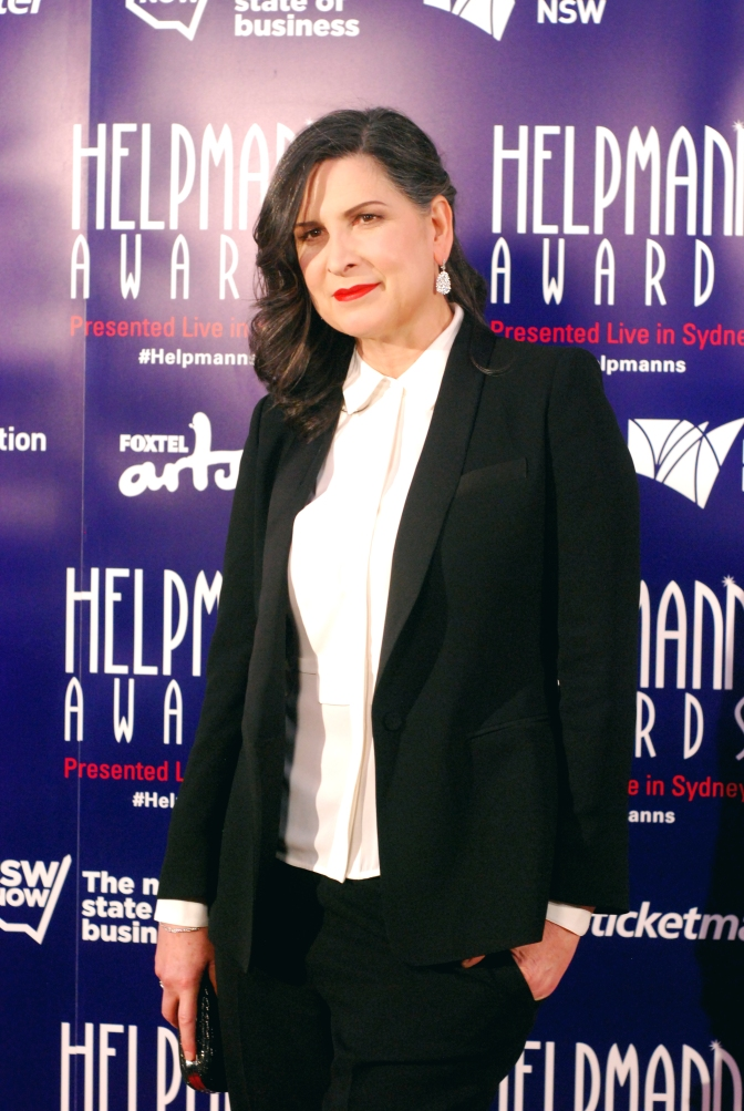 Pamela Rabe at the 2015 Helpmann Awards, Capitol Theatre, Sydney - Photographed by Whitney Duan