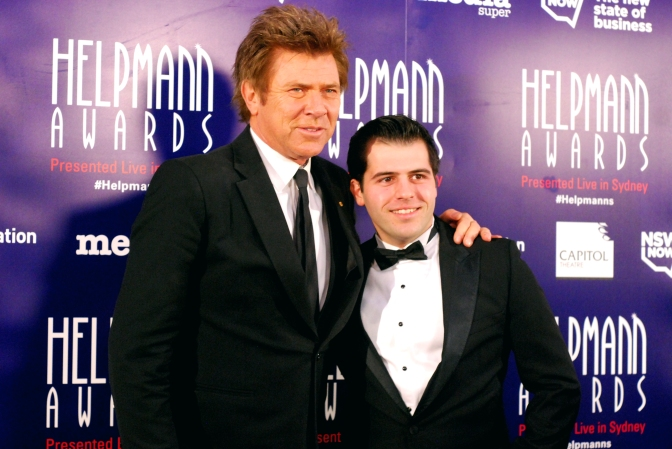 Richard Wilkins at the 2015 Helpmann Awards, Capitol Theatre, Sydney - Photographed by Whitney Duan