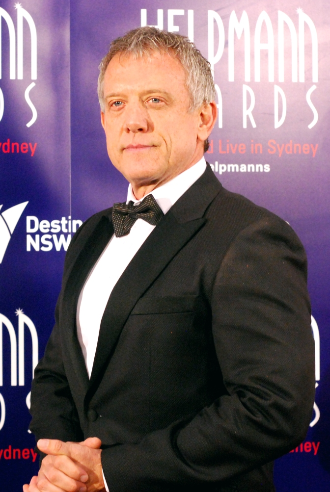Simon Burke at the 2015 Helpmann Awards, Capitol Theatre, Sydney - Photographed by Whitney Duan