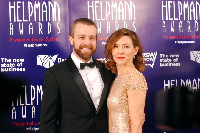 Simon Gleeson at the 2015 Helpmann Awards, Capitol Theatre, Sydney - Photographed by Whitney Duan