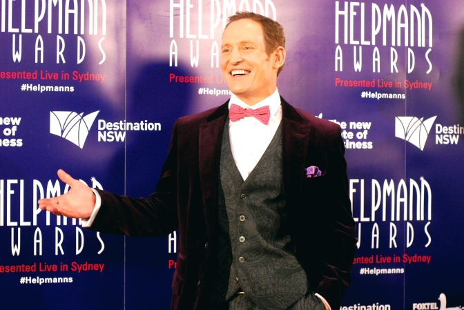 Todd McKenny at the 2015 Helpmann Awards, Capitol Theatre, Sydney - Photographed by Whitney Duan